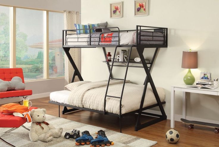 17 Best Ideas About Full Bunk Beds On Pinterest Bunk Bed
