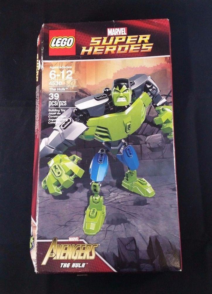 Lego 4530 Marvel Super Heroes The Hulk Avengers 2012 Sealed Retired #Legos #MarvelComics #IncredibleHulk #Avengers #SuperHeroes