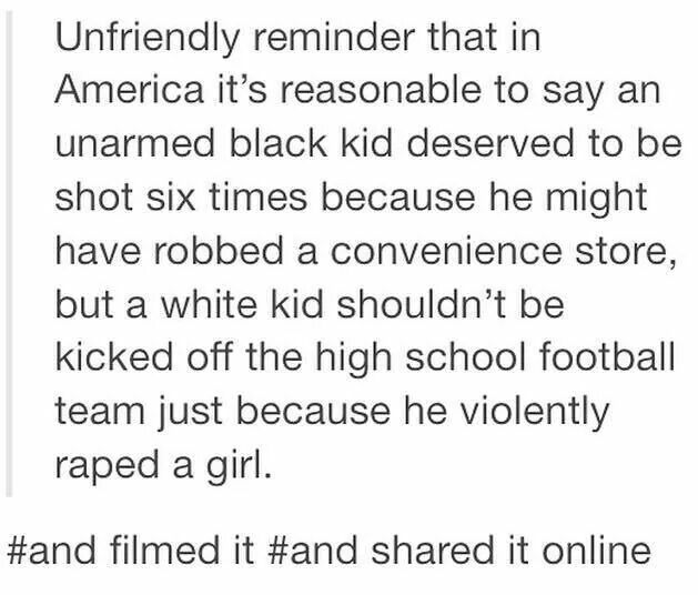 This post is more about racism not feminism but you know what they are both important