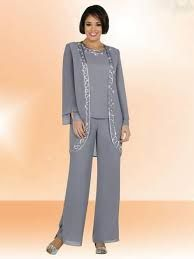 Image result for plus size mother of the bride pant suits