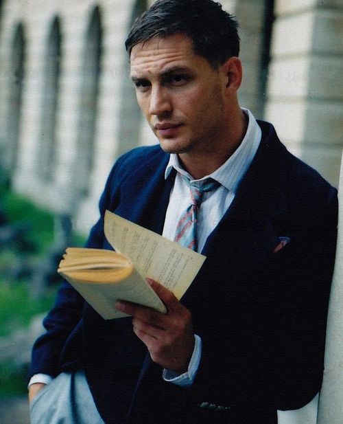 Tom Hardy reads