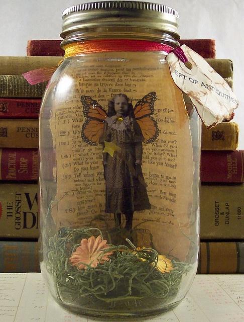 Fairy in Jar 2 by Heather ?