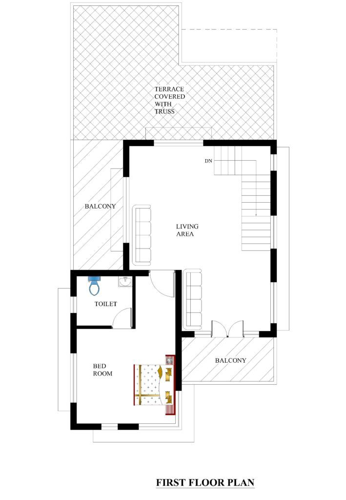 25x51 House Plans For Your Dream House House Plans