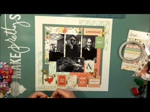 #142 You & Me - Scrapbook Process