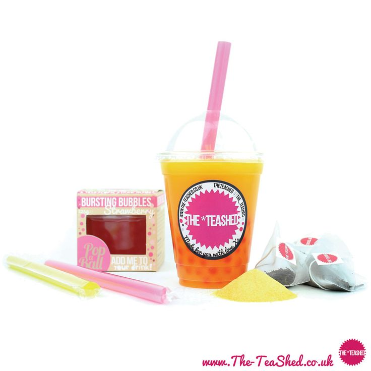 Bubble Tea Kit for Bubble Tea at Home. Contains boba for bubble tea, bubble tea powder & chunky bubble tea straws. Fast UK delivery on bubble tea supplies.