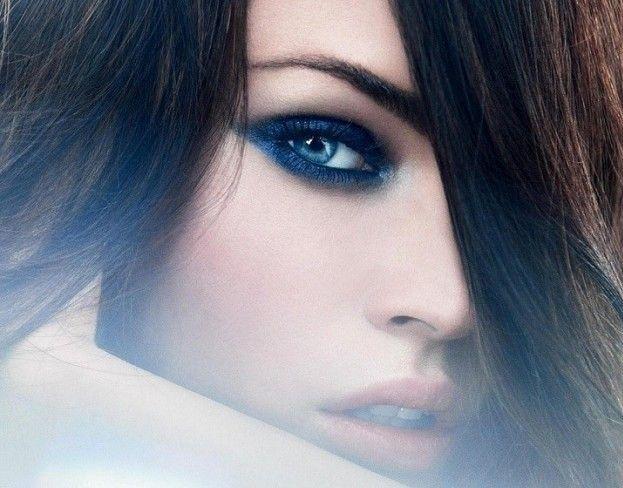 make up per gli occhi azzurri