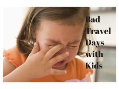 Bad Travel Days with Kids | Solo Mom Takes Flight
