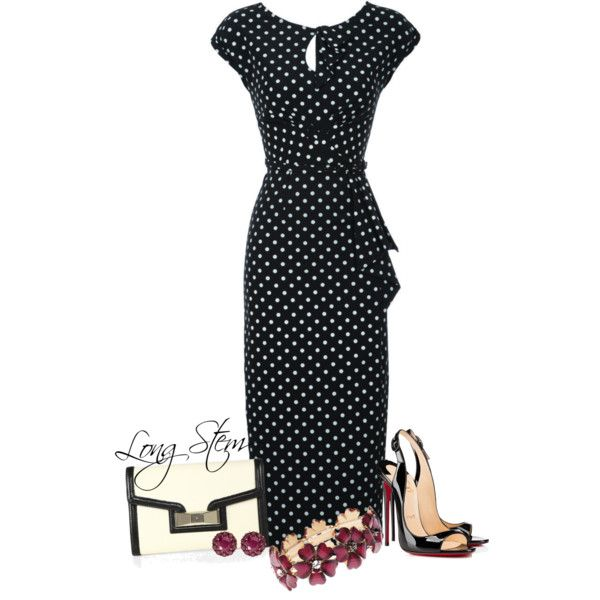 6/19/15 by longstem on Polyvore featuring Christian Louboutin, Kate Spade and Wet Seal