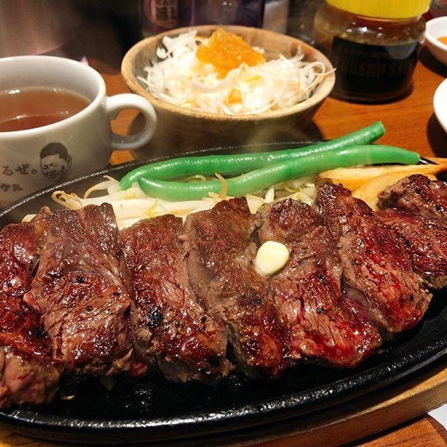 우울할 땐 고기를 먹어야지!?이키나리 스테이크보다 싸고 맛있었다!! 大満足でした🐮 #스테이크#타케루#아키하바라#아키바#도쿄#일본#스테이크맛집#먹스타그램#맛있다#1ポンドのステーキハンバーグタケル#ステーキ#タケル#肉