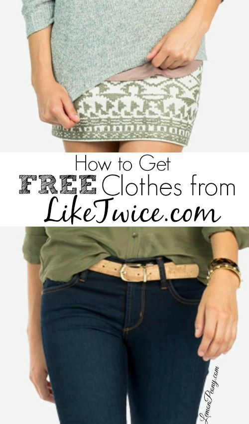 Here's how to get Free Clothes from LikeTwice.com (up to $80 FREE)!! HURRY - This doesn't last long and is valid right now!