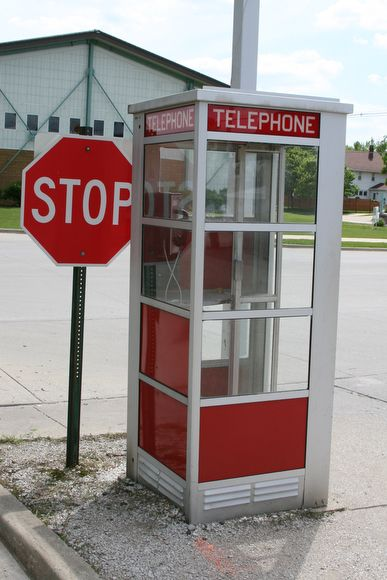 .phone booths.. the way I remember them. Some times you found a dime/ sometimes you found someone's gum! Yuck