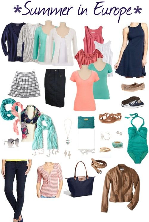 1000+ images about Cruise Wear on Pinterest | One suitcase Europe and Capsule wardrobe