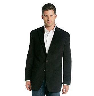 Big and tall black sport coat