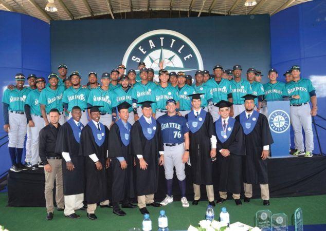 #MLB: Marineros de Seattle celebran su primera graduación de peloteros