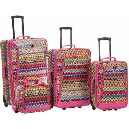 77 best Travel Chic: Luggage Sets and Tote Bags images on ...