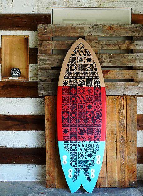 surfboard #surf #tribal