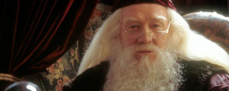 """""""It is not our abilities that show what we truly are… it is our choices."""" --Professor Albus Dumbledore (Richard Harris) in """"Harry Potter and the Chamber of Secrets"""" (2002) (Photo Credit: pottertalk.net)"""