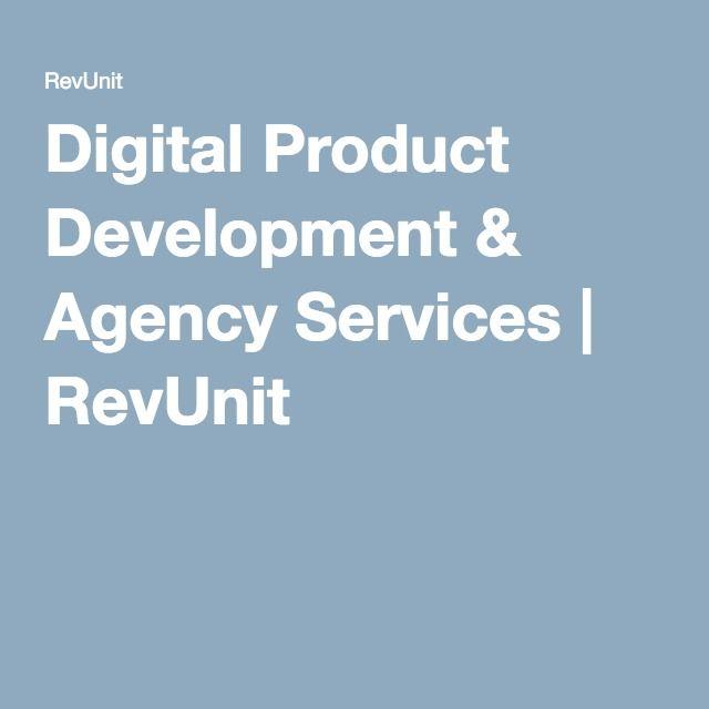 Digital Product Development & Agency Services | RevUnit