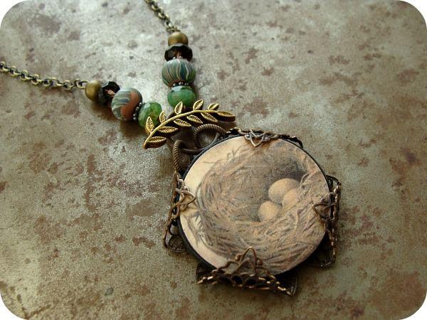 Art Bead Scene Blog: Tree Top Necklace
