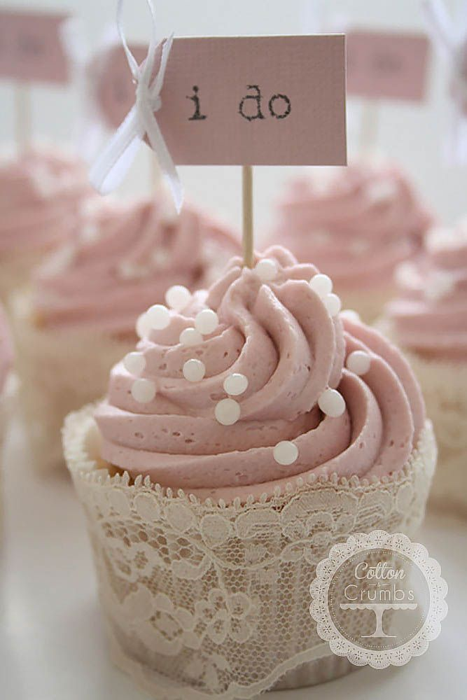 Bridal shower cupcakes and Cupcakes for weddings