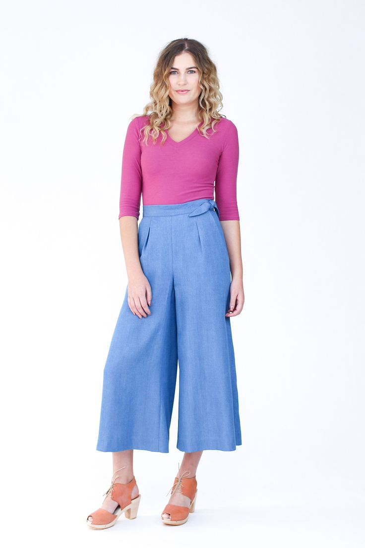 Flint pants and shorts from Megan Nielsen