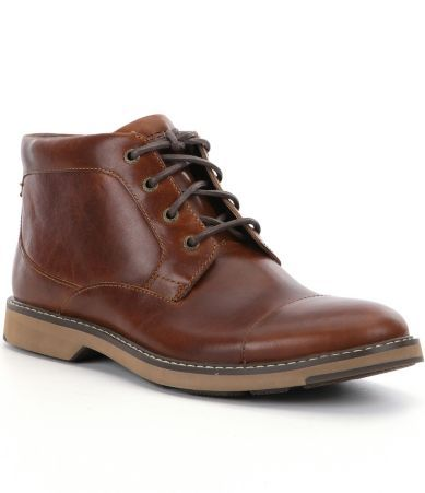 Sperry Men´s Commander Leather Chukka Boots #Dillards