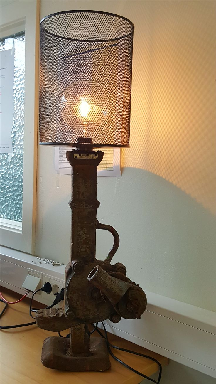 Jack up lamp