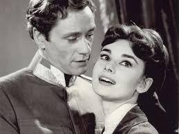 Audrey Hepburn and Mel Ferrer in Mayerling, 1957