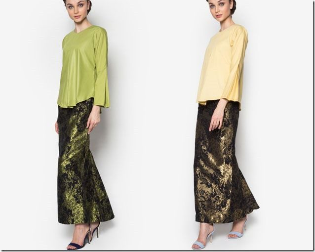 Songket Style Modern Kurung Ideas For Raya 2016