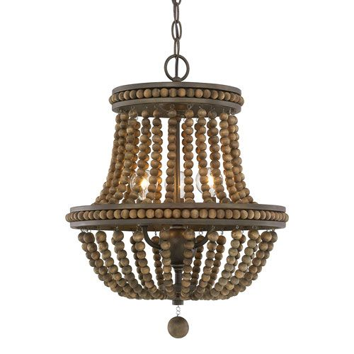1000 ideas about wood bead chandelier on pinterest bead. Black Bedroom Furniture Sets. Home Design Ideas