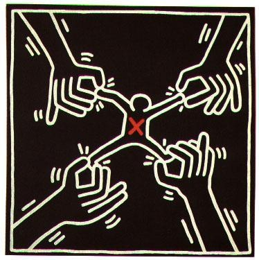 61 best images about keith haring on pinterest keith - Keith haring shower curtain ...