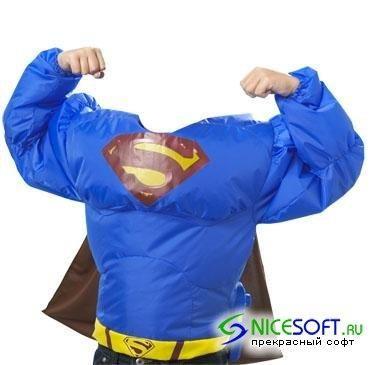 Костюм супермена для фотошоп