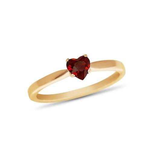 Золотое кольцо с рубином ZT-700347h
