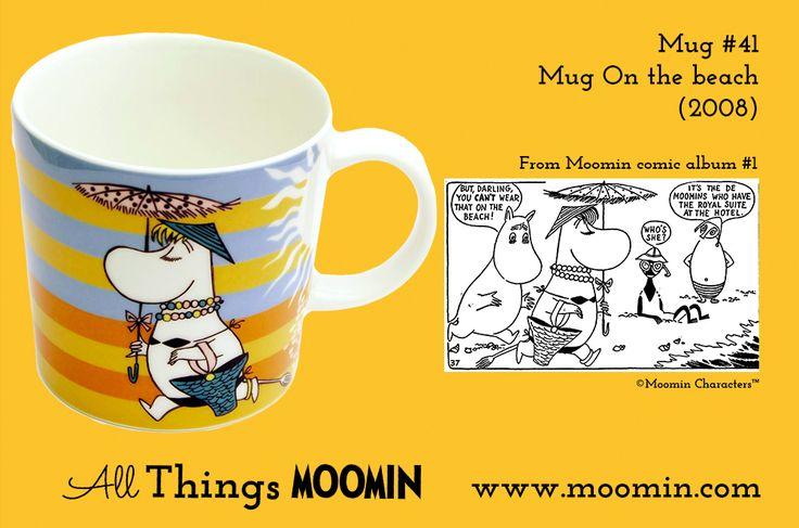 41 Moomin mug On the beach