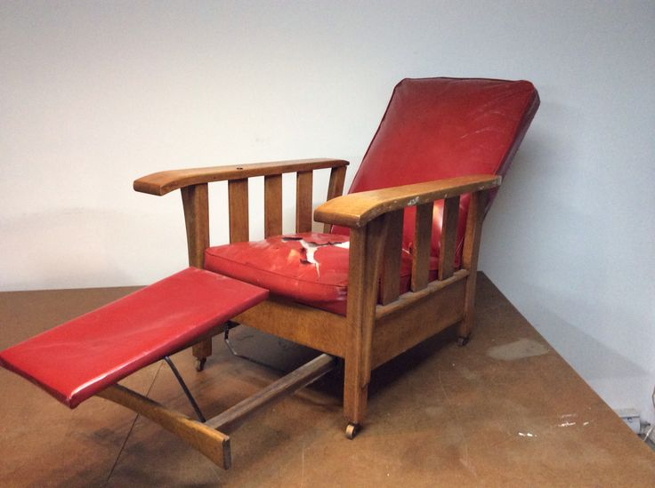 Chair in reclined position  1920s Royal Easy Chair