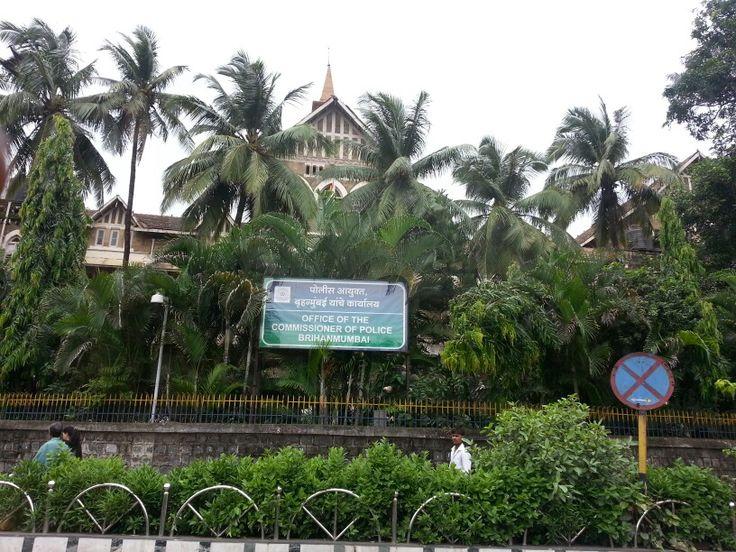 New Vasantashram's landmark. It's opposite the Police Commissioner's office.