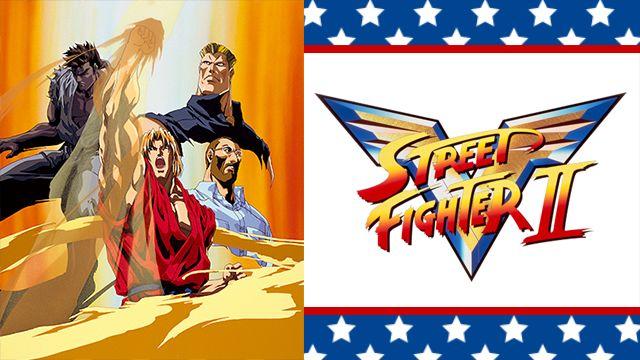 Street Fighter II V ストリートファイターII V 1995