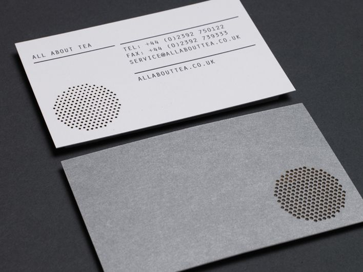 Business cards with