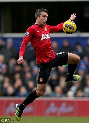Robin van Persi  Scored for Holland will he net one in this week for united?