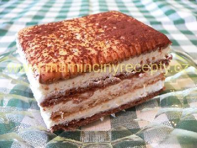 Smetanový Be-be dezert
