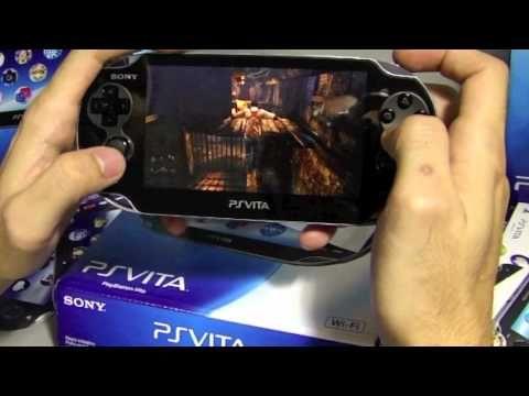 PS Vita Unboxing (Brazil): Vita Systems