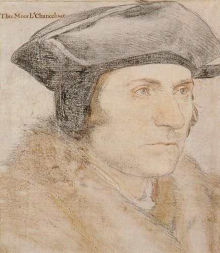 HOLBEIN Hans the Younger - German (Augsburg 1497- 1543 London) - Thomas More.