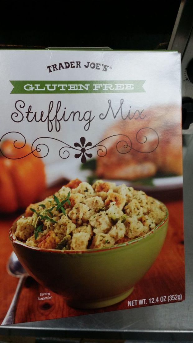 Trader Joe's Gluten Free Stuffing Mix