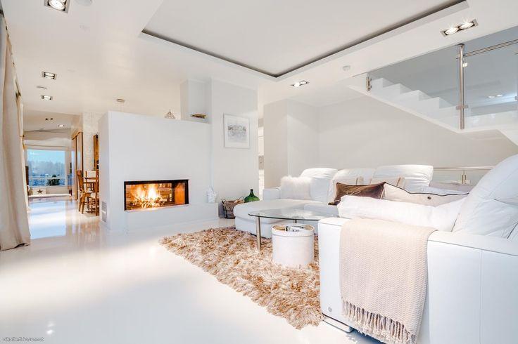 Myytävät asunnot, Osmussaarenkaari 14, Kirkkonummi #oikotieasunnot #valkoinen #sisustus