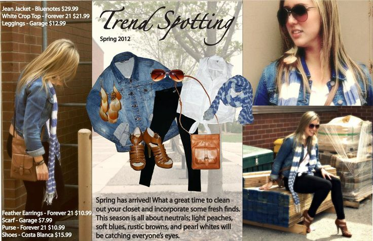 Spring 2012 Trend Spotting Melissa Weiler © #2012 #trendspotting #fanshawe #fashion
