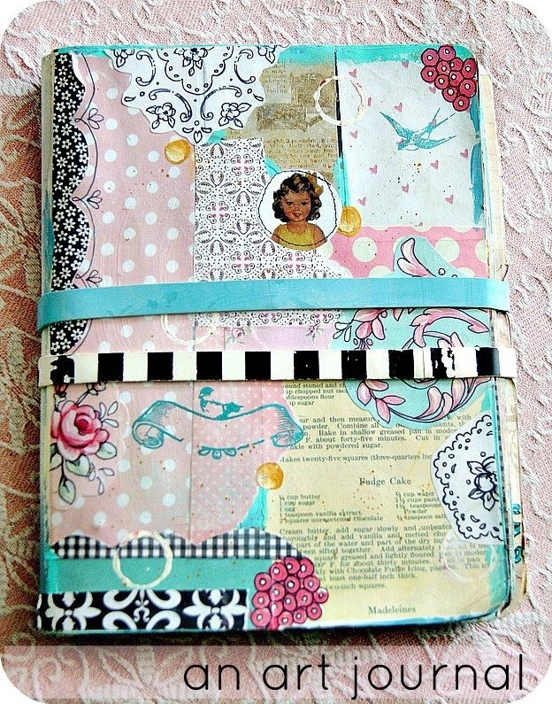 Everyday is a Holiday- one of Jenny's adorable art journals!! You could also have a writer's journal!! Great idea for kids project during the …
