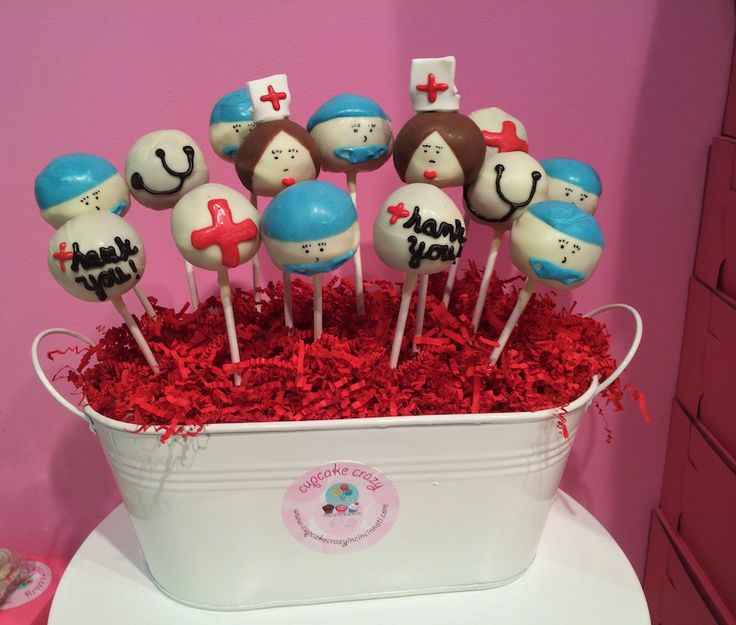 Nurse And Doctor Cake Pops Our Pinterest