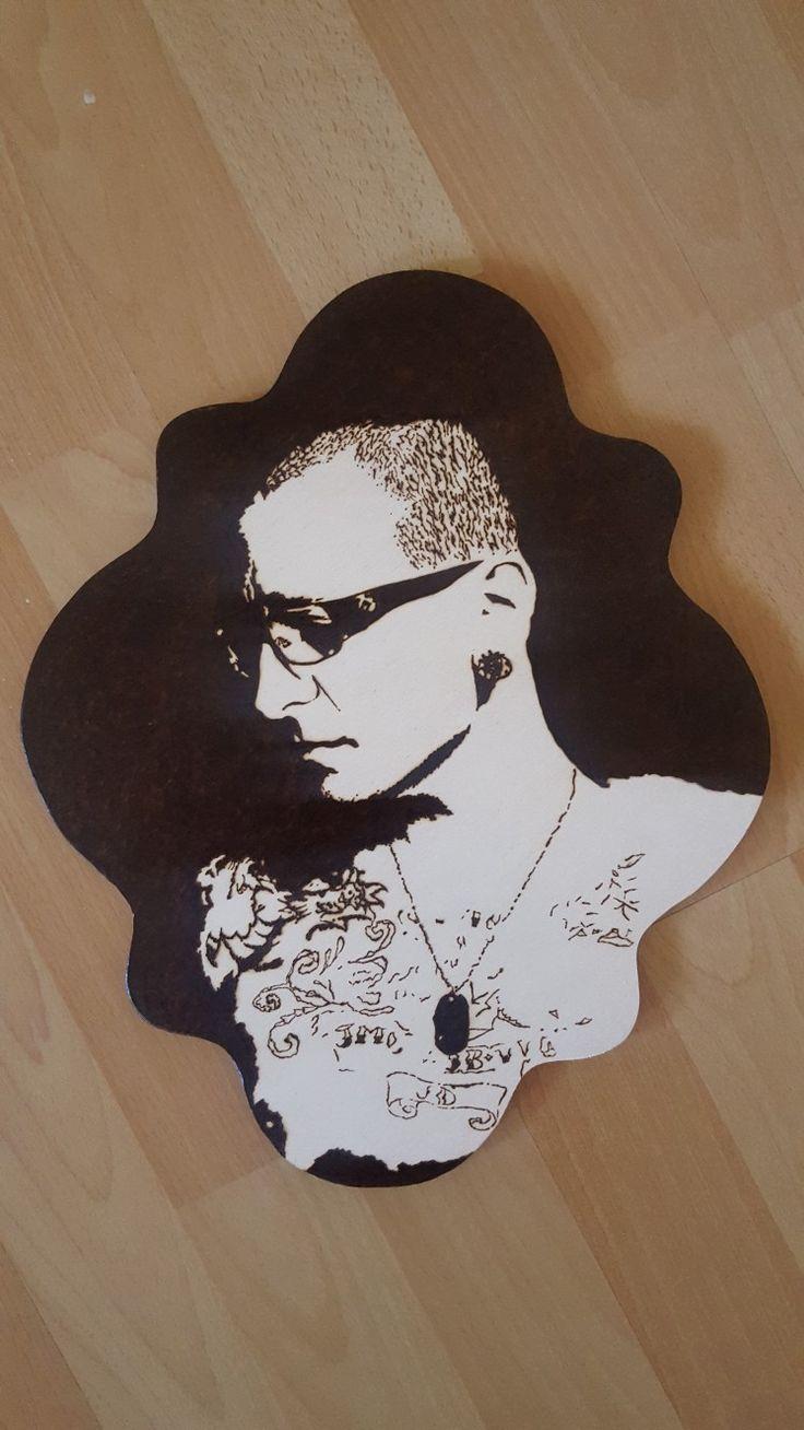 Chester Bennington portrait