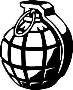 hand grenade tattoos - Google Search: Vinilo Stencil, Decals Shops, Shops Logos, Decals Worldwid, Vinyl Sticker, Online Decals, Ships Decals, Stencil Decals, Stickers Pegatina