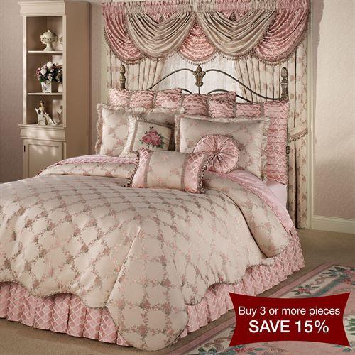 Floral Trellis Comforter Bedding Comforters Victorian Bedroom